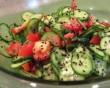 Paradicsomos uborkasaláta