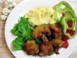 Rántott karfiol krumplipürével
