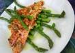 Sült hal spárgakörettel