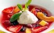 Tejszínhabos gyümölcsleves
