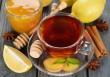 Gyömbéres, mézes, citromos tea
