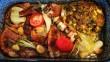 Sültes tál, tarja, karaj és a vele sült tavaszi jóságok