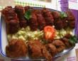 Bacon-os hús, zöldséges krumpli