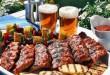 Sült hús, köret, sör