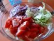 Friss, finom saláta