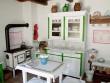 Régi, de szép konyha