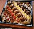 Egy tálca finom sütemény