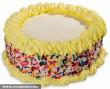 Torta színes cukorkákkal