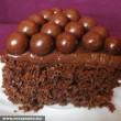 Csokibogyós csokitorta