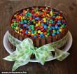 Kit- Kat & M&M-s torta