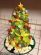 Karácsonyfa zöldségekbõl