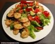 Garnélás saláta