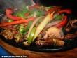 Párolt husik és zöldségek
