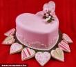 Szív alakú torta