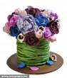 Virágcsokor torta