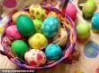 Húsvéti festett tojások