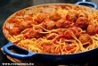Húsgombócos spagetti