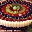 Gyümi torta