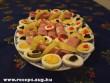 Sonkás, tojásos hidegtál