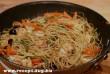 Zöldbabos spagetti