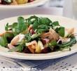 Pisztráng saláta