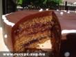 Epertöltelékes csokitorta