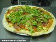 Sonkás Pizza Rukkolával