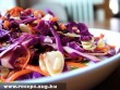 Vöröskáposzta saláta