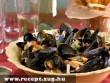 Francia kagylótál