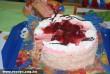 Epres - tejszínes torta