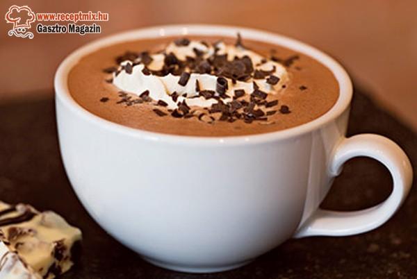 Forró csoki házilag
