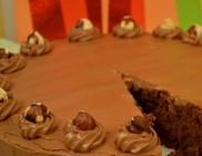 Csokitorta nutellásan