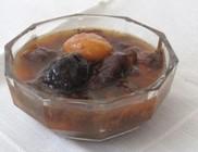 Aszalt gyümölcsökből készült leves