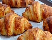 Házi készítésű croissant