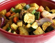 Sült zöldségek
