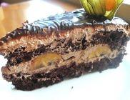 Csokis banános piskóta