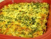 Csőben sült petrezselymes krumpli