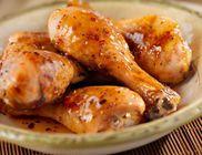 Mézes-mustáros csirkecomb chilisen