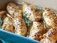 Mustáros-mézes csirkemellek