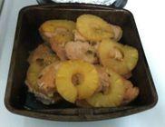 Ananásszal borított pulykamell
