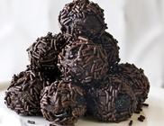 Csokis-rumos golyók